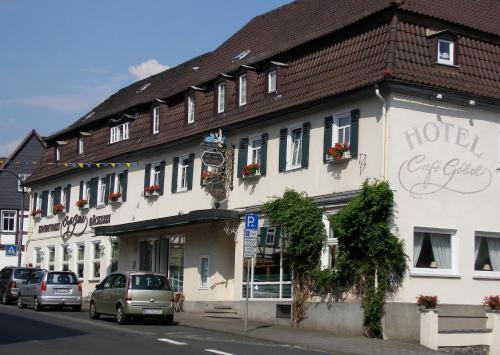. Unser kleines Hotel Café Göbel