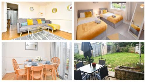 . Contractor accommodation- Central MK location Spacious garden Fast WIFI Parking