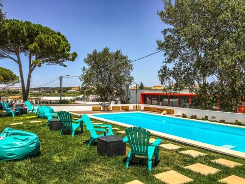 House with 2 bedrooms in Atalaia with shared pool enclosed garden and WiFi 3 km from the beach