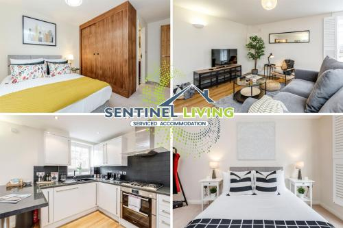 . Sentinel Living Serviced Accommodation, Windsor, 2 Bedroom Apartment with Free Parking and WiFi