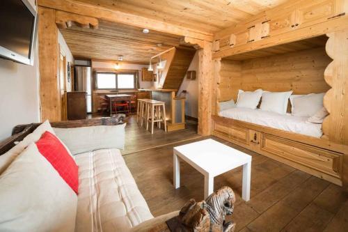 Les Gentianes Appartement 6 pers. à 50 mètres des pistes Meribel 3 vallées - Hotel - Méribel