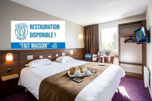Brit Hotel Rennes Le Castel - Hôtel - Rennes