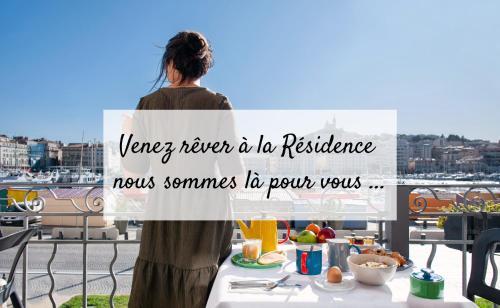 La Résidence Du Vieux Port - Hôtel - Marseille