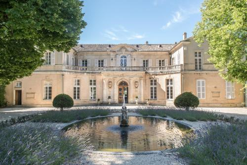 Kasteel-overnachting met je hond in Château Martinay - Carpentras