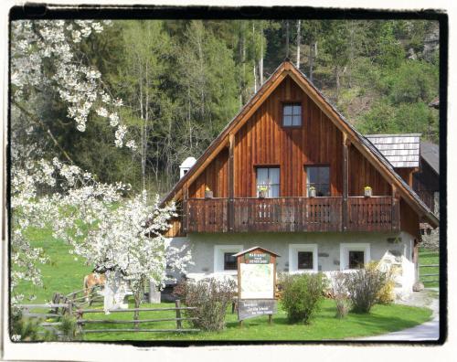 Ferienhaus Zur alten Schmiede - Hotel - Mariahof