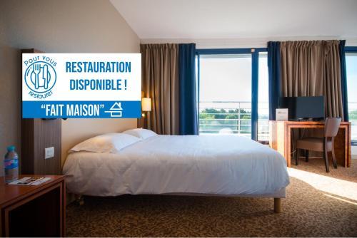 Brit Hotel Saint Malo – Le Transat - Hôtel - Saint-Malo