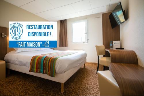 Brit Hotel Le Kerann Nantes St Herblain - Zac De La Lorie - Hôtel - Saint-Herblain