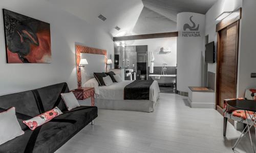 Deluxe Room Hotel & Winery Señorío de Nevada 6