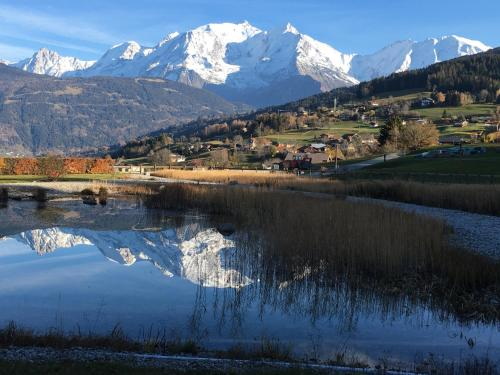 Vue Mont Blanc et toute la chaîne - Apartment - Combloux