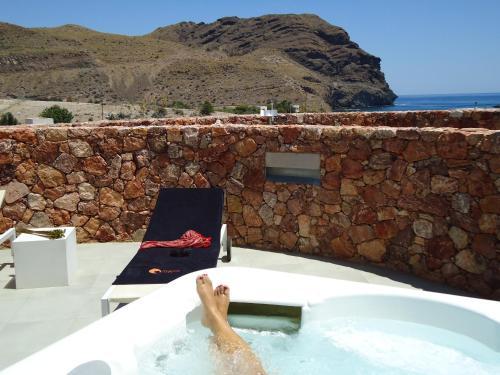 Suite Junior con vistas al mar Hotel Spa Calagrande Cabo de Gata 13