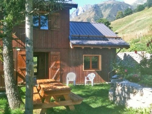 Charming chalet in La Lechere French Alps with Balcony - Chalet - Celliers