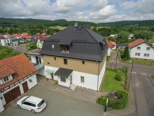 . Bright and modern apartment in Thuringia with a private entrance