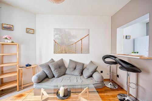 Superbe Appartement Lumineux Et Chaleureux - Location saisonnière - Saint-Ouen-sur-Seine