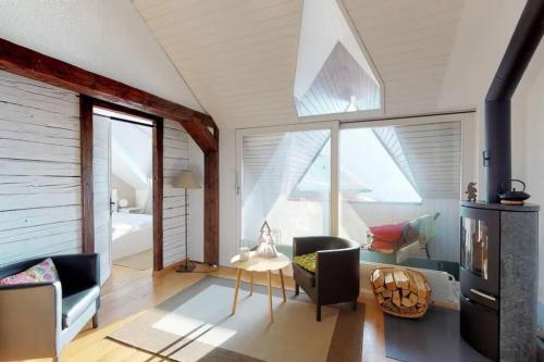 Charmant et lumineux appartement Duplex à Charmey - Apartment