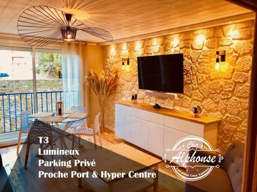 Chez Alphonse : T3 cosy et rénové - proche du port - Location saisonnière - Vannes