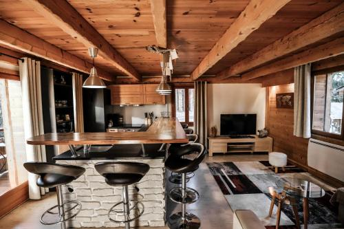 Le Grenier - Apartment - Saint Jean de Sixt