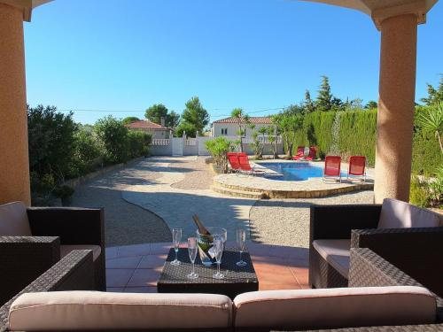 . Villa Mila with air-conditioning & private swimming pool