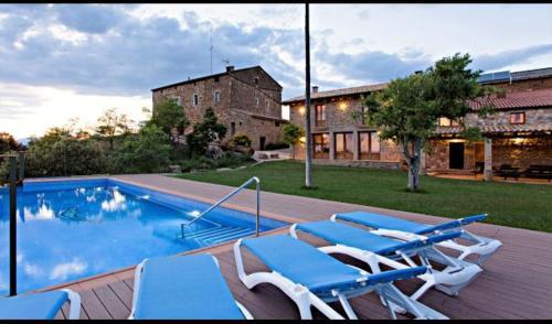la Baronia de Rialb Villa Sleeps 18 with Pool - Accommodation - La Baronia de Rialb