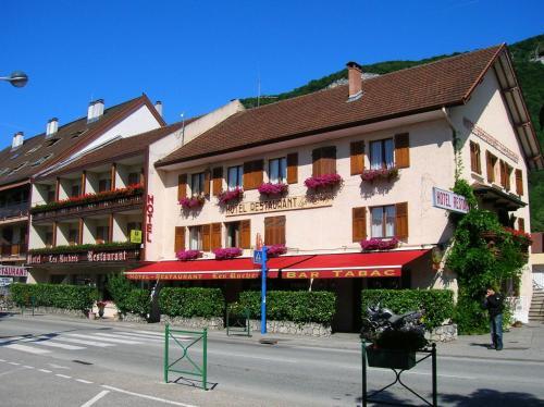 """Hôtel-Restaurant """"Les Rochers"""" - Hôtel - La Balme-de-Sillingy"""