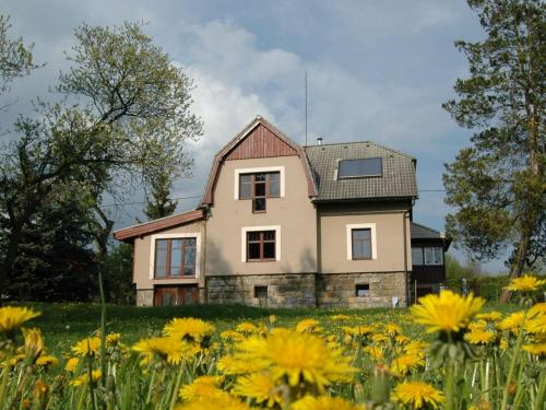 Spacious Holiday Home in Karlovice with Fenced Garden