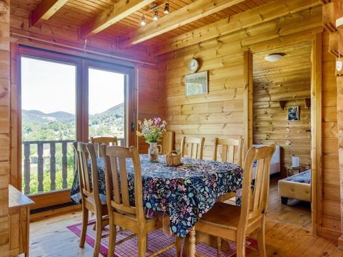 Failrytale Chalet in Lotharingen with Garden - St Maurice sur Moselle