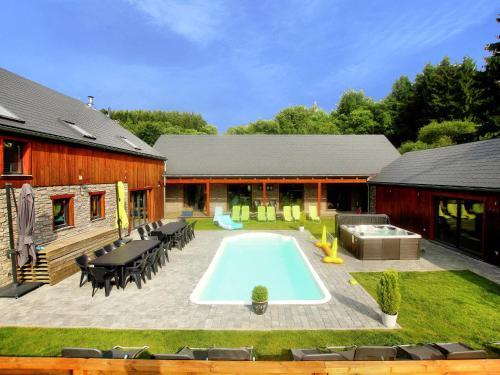 . Luxurious Villa with Private Pool in Manhay Belgium