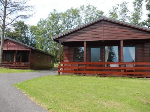 Birch Lodge 20 With Hot Tub Newton Stewart
