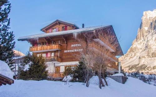 Hotel Gletscherblick - Accommodation - Grindelwald