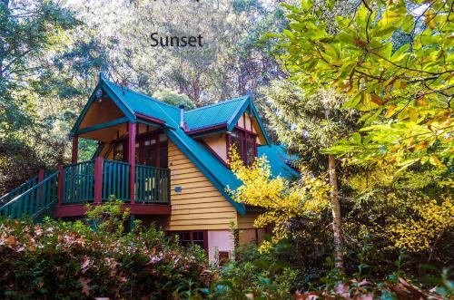 Arnica Views Summit Retreat - Accommodation - Mount Dandenong