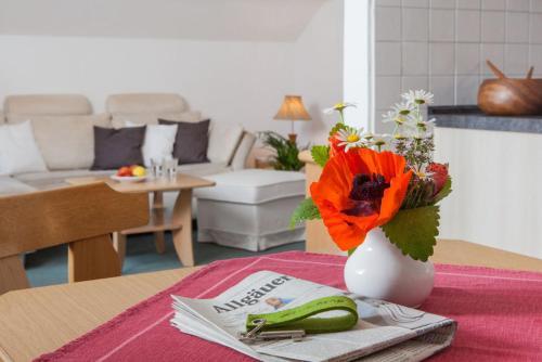 Gästehaus Eberhart - Apartment - Oberjoch-Hindelang