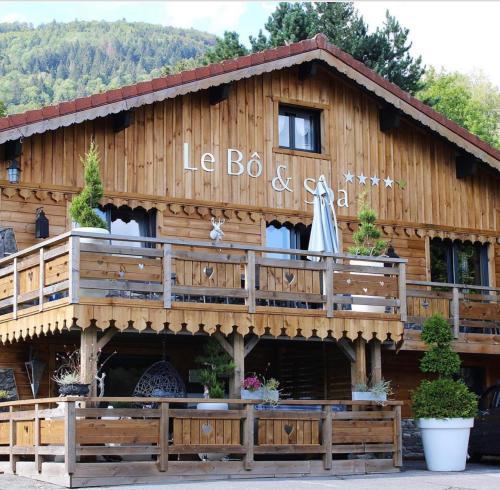 Chalet le Bô & Spa - Bussang
