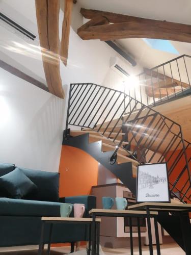 Cozy Duplex Beurre coeur de ville - Location saisonnière - Beaune