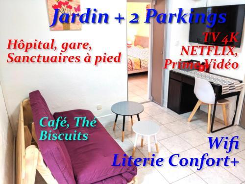 Au Petit Marcadal **sanctuaires, hôpital, gare** - Location saisonnière - Lourdes