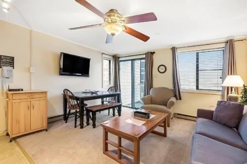 Stroll to Slopes, Village Area, Ski in-Out MtLodge 210 - Accommodation - Snowshoe