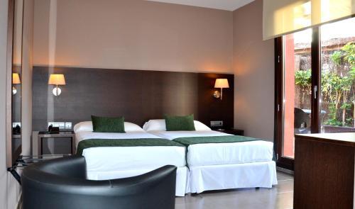 Hotel Vilassar 房间的照片