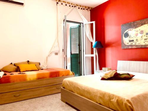 . Apartment with one bedroom in Baia Verde with balcony and WiFi 200 m from the beach