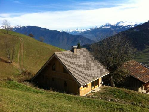 Chalet de 4 chambres a Les Avanchers Valmorel avec magnifique vue sur la montagne et jardin amenage a 7 km des pistes - Hotel - Les Avanchers