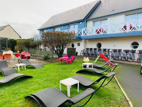 Contact hôtel - Motel Les Bleuets - Hôtel - Honfleur
