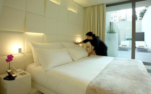 Habitación Doble Superior con terraza - Uso individual The Mirror Barcelona 28