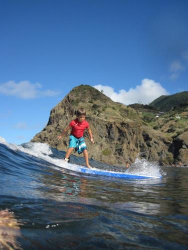 Hotel-overnachting met je hond in Madeira Surf Camp - Porto da Cruz