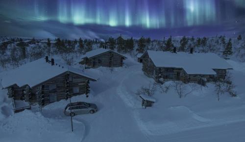 Sielikkö Aurora Log Apartments - Hotel - Saariselkä
