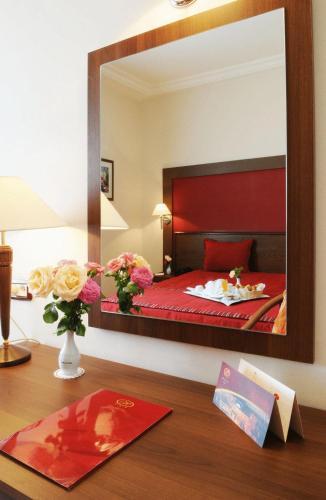Hotel du Parc zdjęcia pokoju