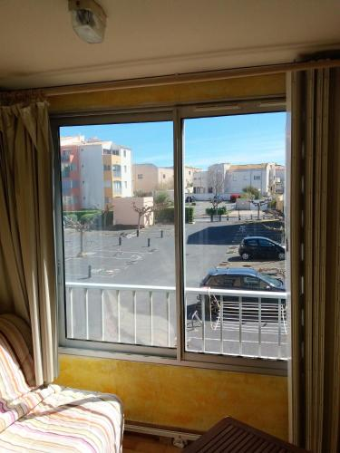 . Studio in Agde with wonderful city view terrace and WiFi 150 m from the beach