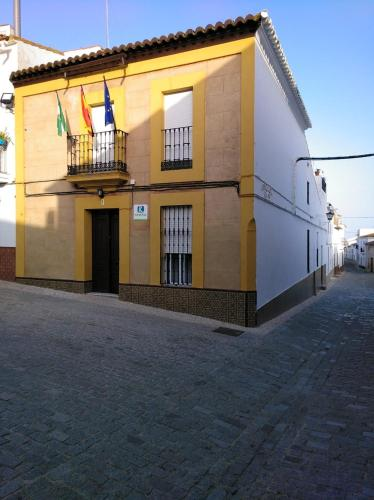 . Apartment with 4 bedrooms in Encinasola with wonderful mountain view furnished terrace and WiFi