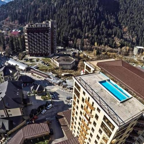 Apartment Vershyna 401 - Hotel - Dombay