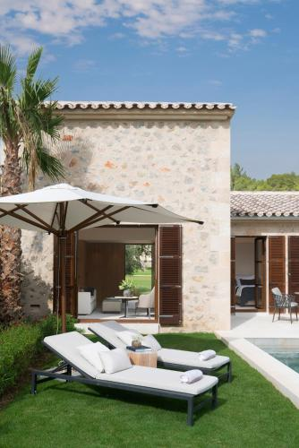 Suite con piscina privada Castell Son Claret - The Leading Hotels of the World 26