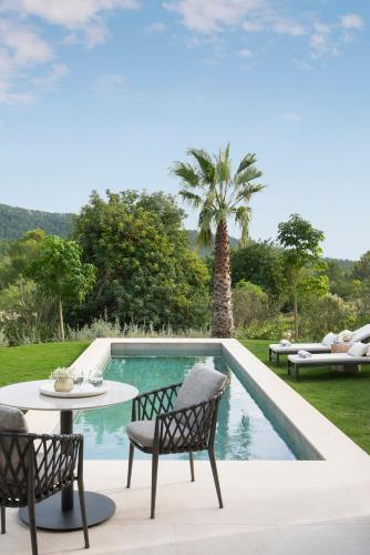 Suite con piscina privada Castell Son Claret - The Leading Hotels of the World 25