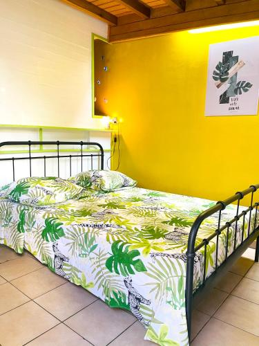 . Studio in Basse Terre with enclosed garden and WiFi 12 km from the beach