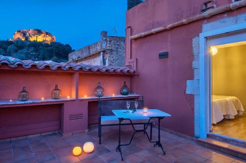 Double Room with Terrace Hotel-Spa Classic Begur 2