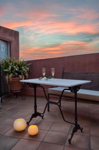 Double Room with Terrace Hotel-Spa Classic Begur 8